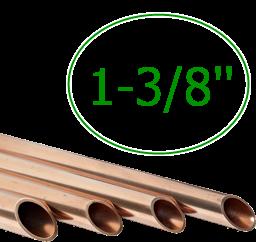 1-3/8'' Труба медная 34,93 мм (толщ. 1,40мм) * 3м